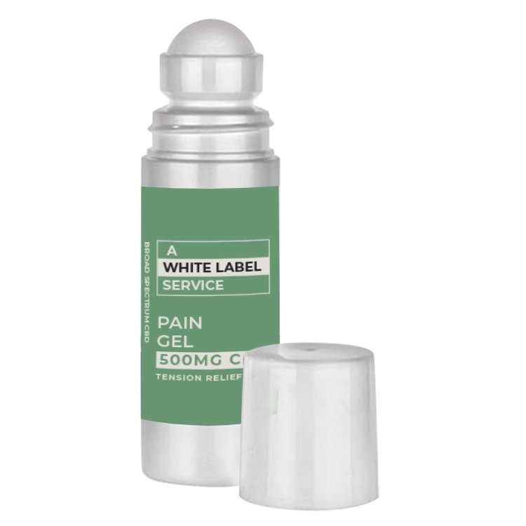 White Label - CBD Pain Relief Gel - CBD Liquid Labs