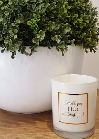 Will you be my...? Soy Wax Candle