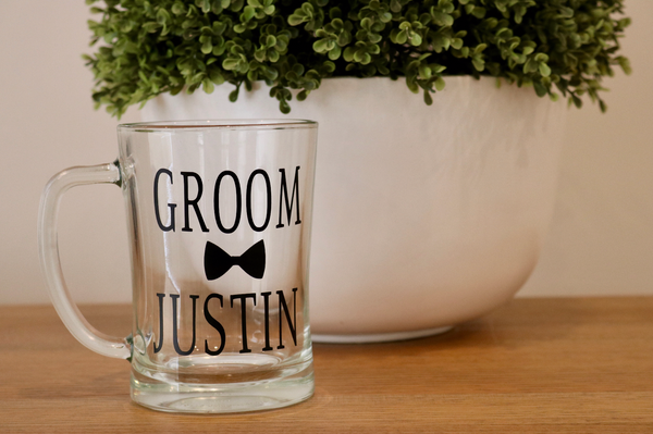 Bridal Party Pint/Beer Glass