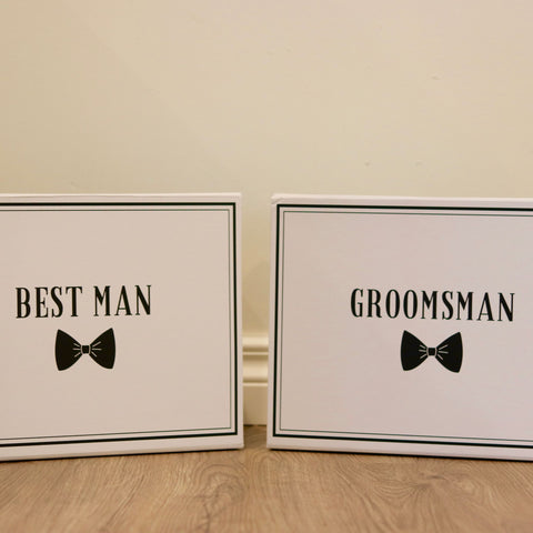Best Man Gift Boxes