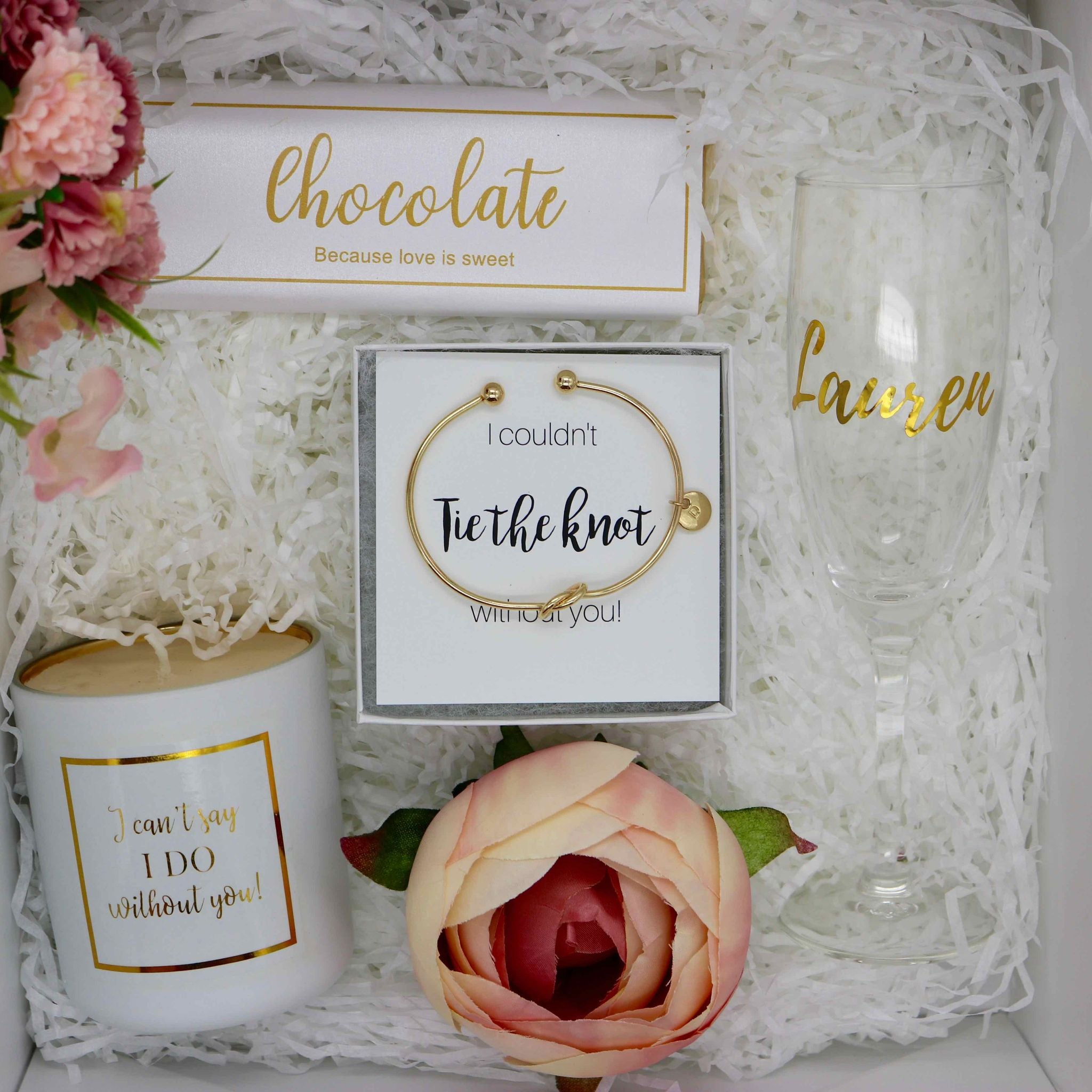 The Lily Gift Maid of Honour Proposal Gift Box