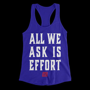 All We Ask Effort - Blue