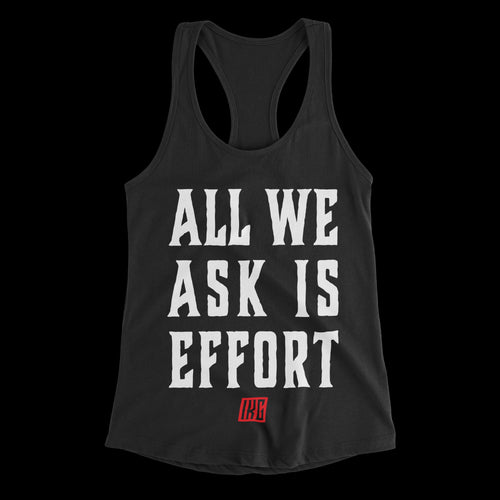 All We Ask Effort - Black