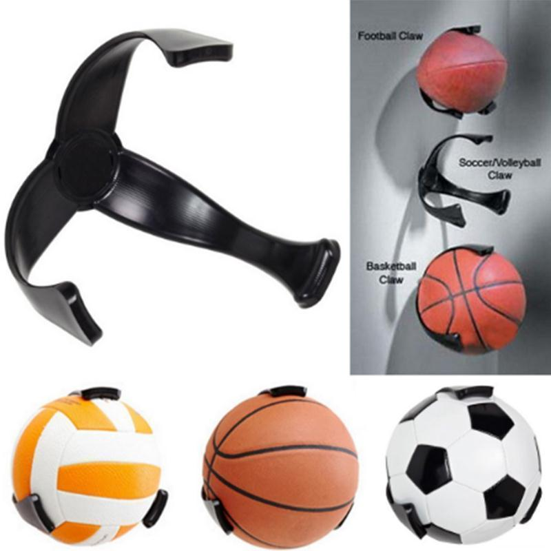Sports Ball Holder Iron Round Wall Mount Rack for Basketball Display