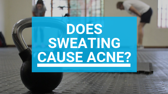 Does Sweating Cause Acne?