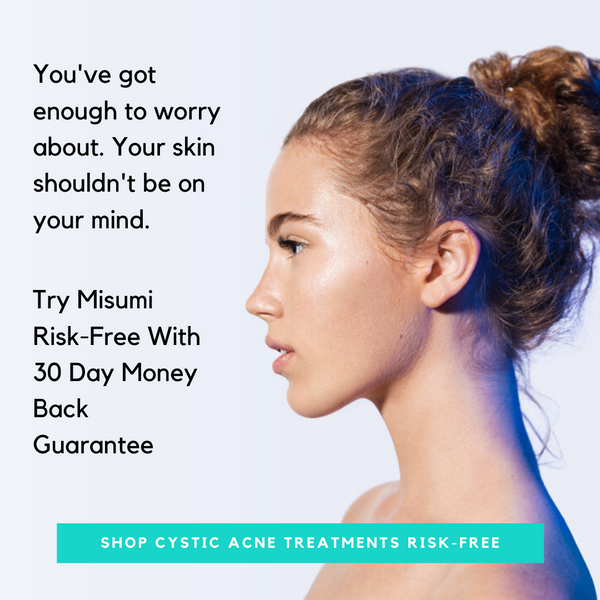 How To Treat Cystic Acne On Neck Misumi Luxury Beauty Care