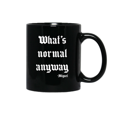 What's Normal Black Mug