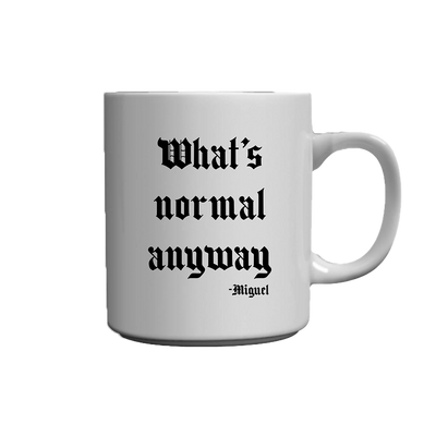 What's Normal White Mug