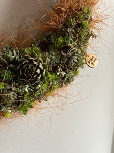 Living Wreath Workshop Sat 8th May 7-9pm