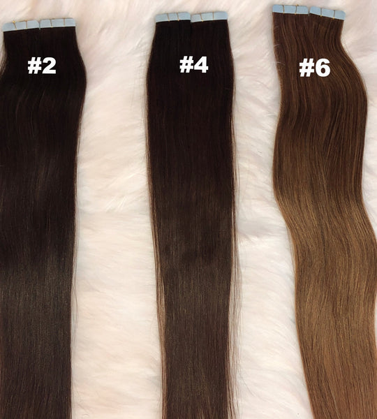 Tape In Extensions - Mighty Touch Collection - Amandalola Hair