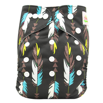 JR.Bums Cloth Nappy Limited Edition - Indian Feathers