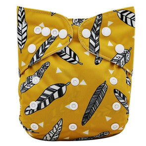 JR.Bums Cloth Nappy Limited Edition - Feathers