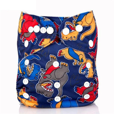 JR.Bums Cloth Nappy Limited Edition - Dinosaur