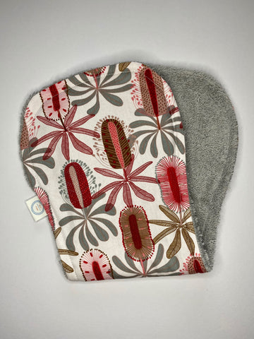 Contoured Burp Cloth - Banksia