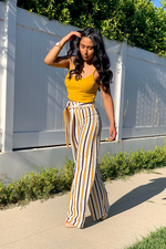 WHERE'S MY HUNNY DRESSY PANTS - Cielo Blue LA