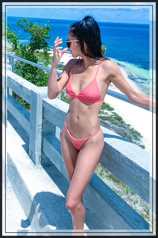 THE ESSENTIAL SWIMSUIT (Available in five different colors) - Cielo Blue LA