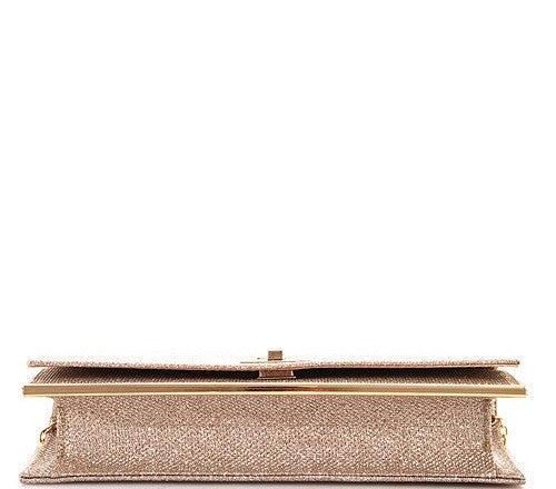 ANASTASIA EVENING CLUTCH - Cielo Blue LA