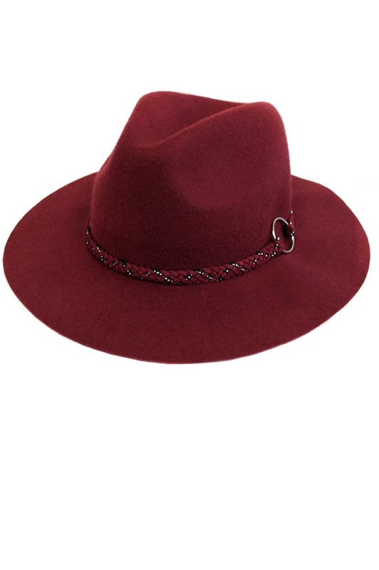 BURGUNDY DREAM HAT - Cielo Blue LA