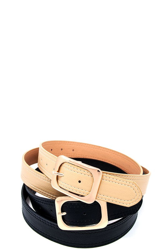 MODERN DETAIL BELT (XL) - Cielo Blue LA