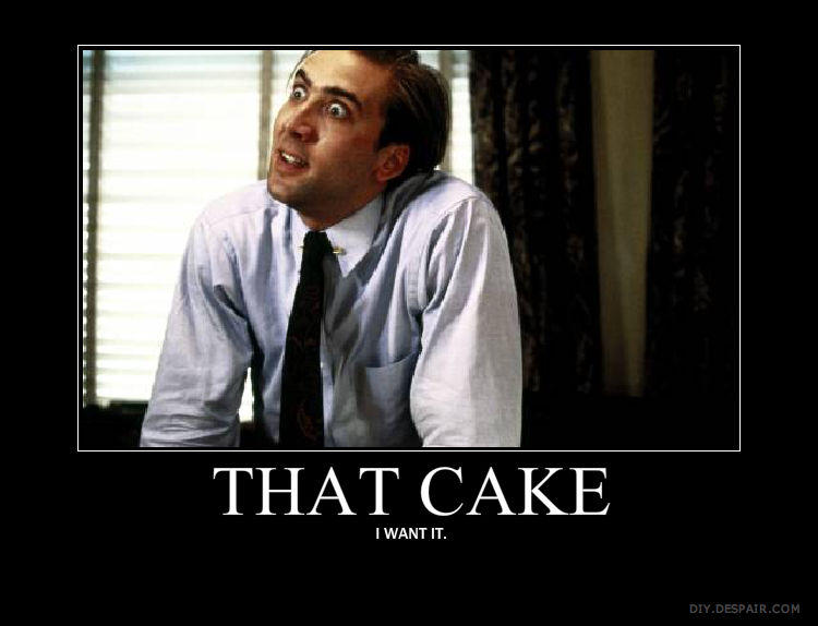 It's Friday!!! Time to get your cake on!!!