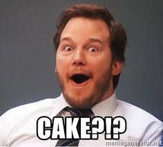 Did somebody say CAKE?!!!
