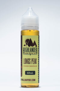 Longs Peak Cinnamon Sugar Marshmallow Highlander Dripping Juice Original E-liquid