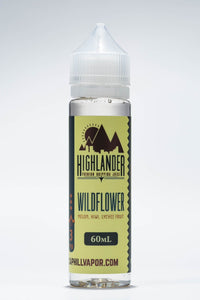 Wildflower Honeydew Melon Kiwi Lychee Candy Highlander Dripping Juice Original E-liquid