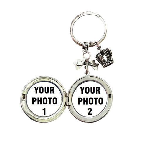 Custom Vintage Photos Flip Type Key Chain