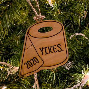 Yikes! 2020 Toilet Paper Christmas Ornaments