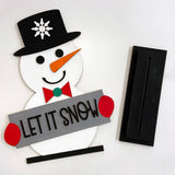 DIY Let It Snow Stand Kit