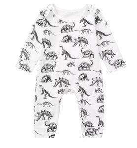Dinosour baby grow