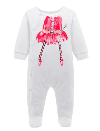 Christmas fairy baby grow