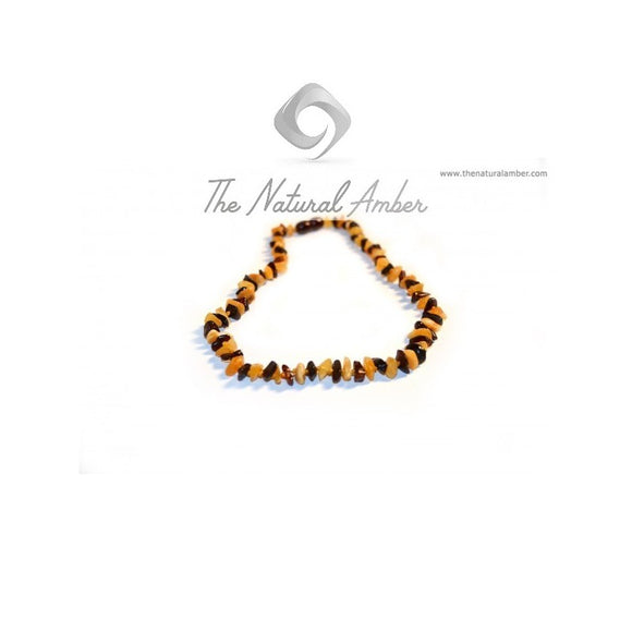 Milky/Cherry Chips Amber Teething Necklace