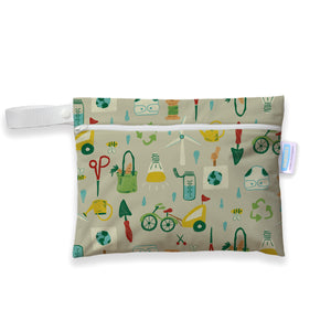 Green Scene - Mini Wet Bag