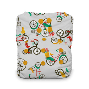 DIAPER WITH BIKES