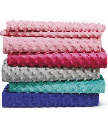 weighted blankets in different colors