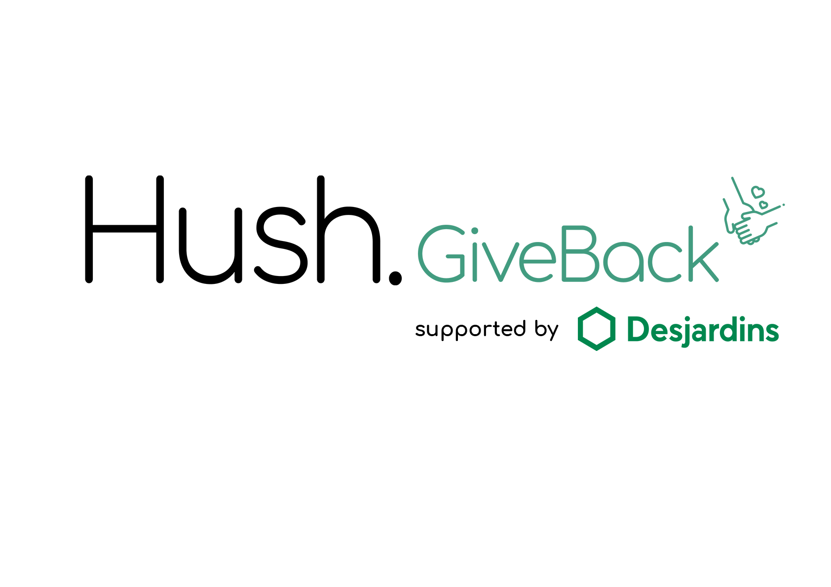 Hush Give Back Logo