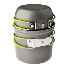 Portable camping stove set