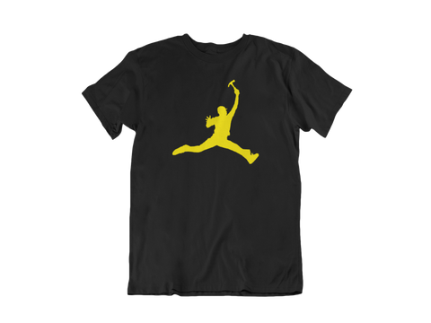 Construction Jumpman Legacy Tee - Black & Gold