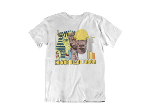 Honor Black Labor Legacy Tee - White
