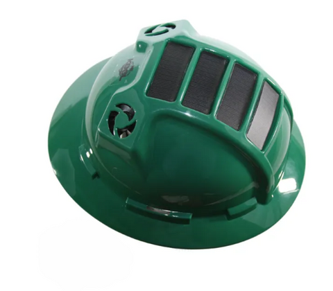 KOOLBREEZE SOLAR HARD HAT - GREEN