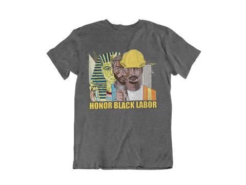 Honor Black Labor Legacy Tee - Asphalt