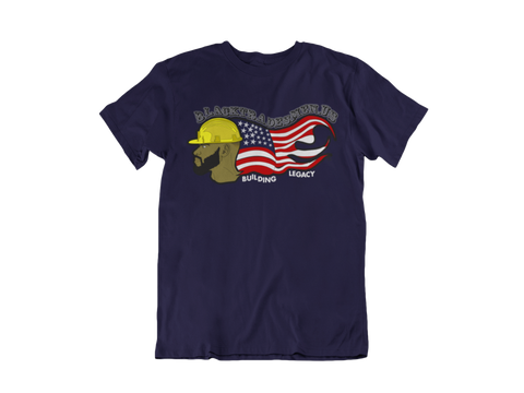 Black Tradesmen U.S. T-Shirt - Navy Blue
