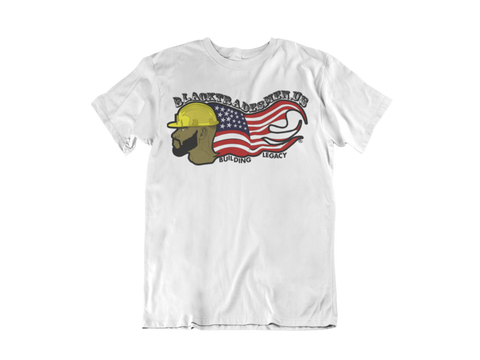 Black Tradesmen U.S. T-Shirt - White