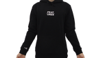 Features Apparel Hoodie Black Front