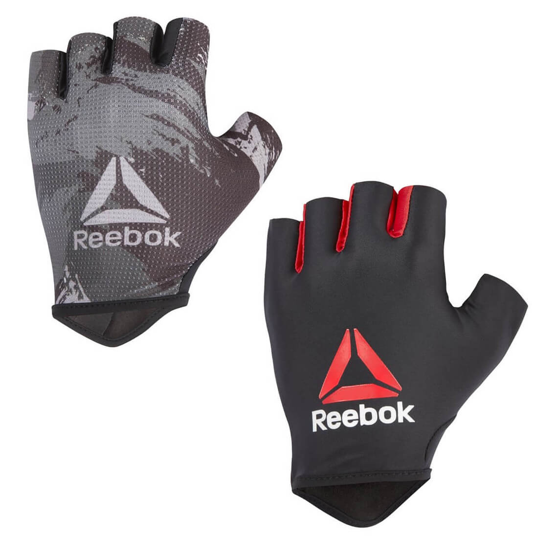 Reebok Mens Training Gloves Weight Lifting Strength Fitness Exercise Gym Workout