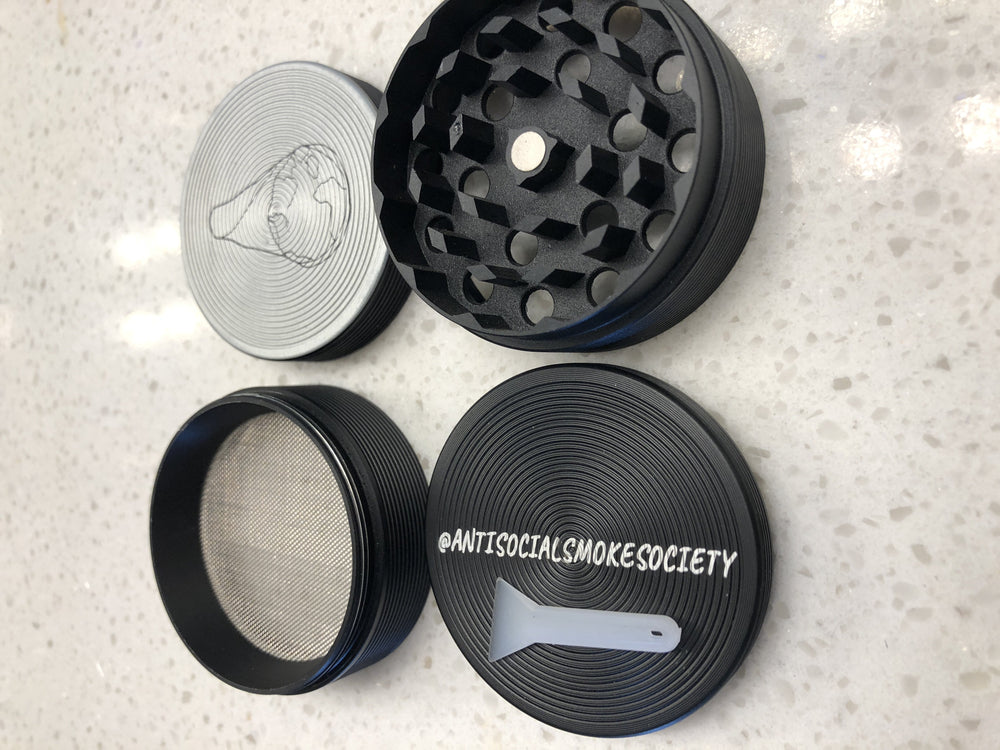 4-Layer Limited Edition A.S.S. Grinder - Antisocial Smoke Society