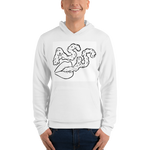 Kiss A.S.S. Unisex hoodie - Antisocial Smoke Society