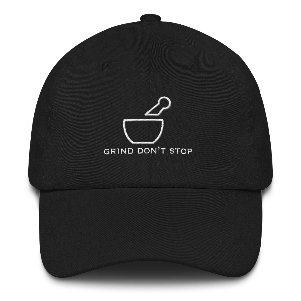 "A.S.S. ""Grind Don't Stop"" Dad hat"