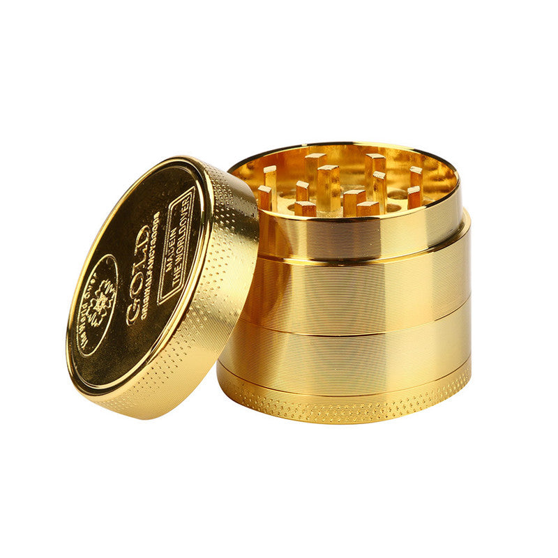 Gold Alloy Herbal Grinder